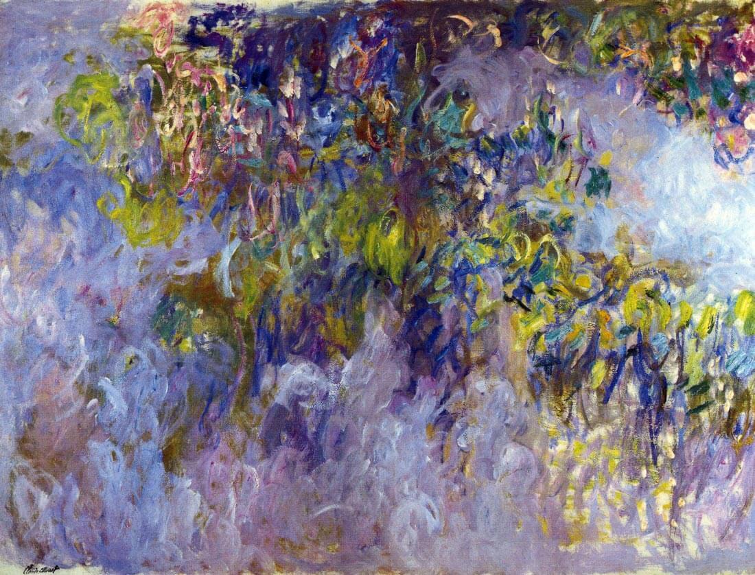 Wisteria [1] - Monet